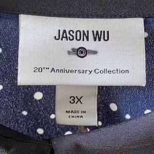 Jason Wu Dresses - Jason Wu for Target navy polka dot dress